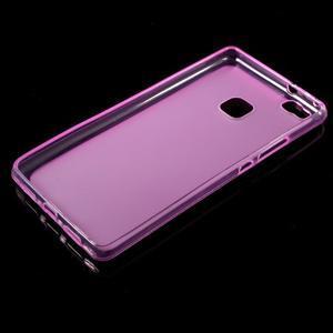 Matný gélový obal pre mobil Huawei P9 lite - rosa - 5