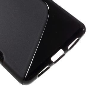 S-line gélový obal pre mobil Huawei P9 Lite - čierny - 5