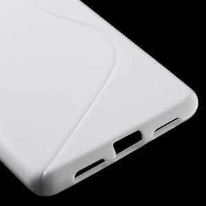 S-line gelový obal na mobil Huawei P9 Lite - bílý - 5