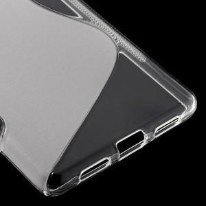 S-line gelový obal na mobil Huawei P9 Lite - transparentní - 5