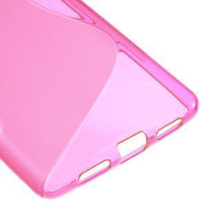 S-line gélový obal pre mobil Huawei P9 Lite - rosa - 5