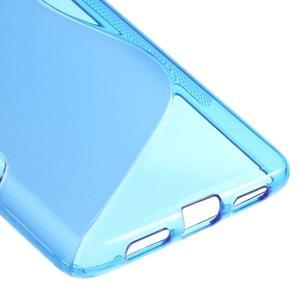 S-line gelový obal na mobil Huawei P9 Lite - modrý - 5