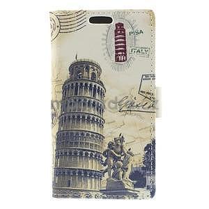 Peňaženkové puzdro na Samsung Galaxy A3 - Šikmá veža - 5