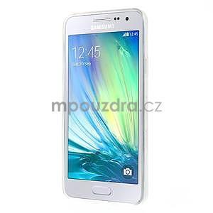 Gélový obal pre Samsung Galaxy A3    - motýl a kruhy - 5