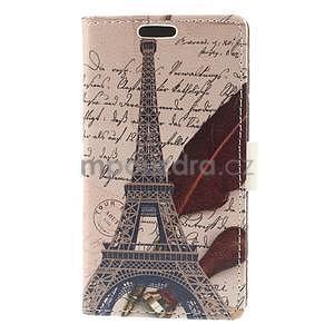 Peňaženkové puzdro na Samsung Galaxy A3 - Eiffelova veža - 5