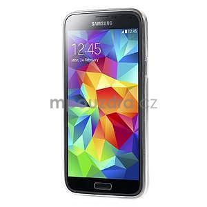 Ultra tenký gélový obal Samsung Galaxy S5 mini - motýlek - 5
