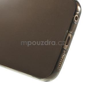 Ultra tenký gélový obal na Samsung Galaxy S6 Edge - šedý - 5