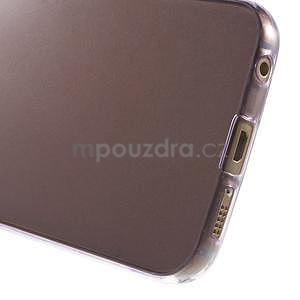 Ultra tenký gélový obal na Samsung Galaxy S6 Edge - fialový - 5