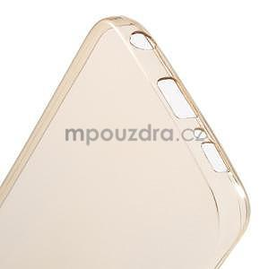 Béžový ultra slim obal pre Samsung Galaxy S6 Edge - 5