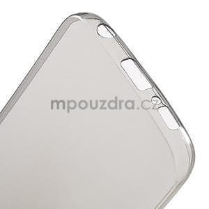 Šedý ultra slim obal na Samsung Galaxy S6 Edge - 5