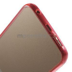 Rose hybridný gélový obal pre Samsung Galaxy S6 Edge - 5