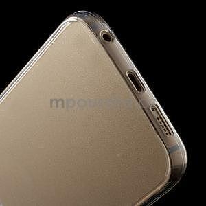 Transparentní hybridný gélový obal na Samsung Galaxy S6 Edge - 5