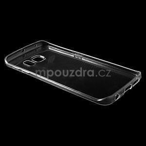 Ultra tenký gélový obal pre Samsung Galaxy S6 Edge - tranparentní - 5