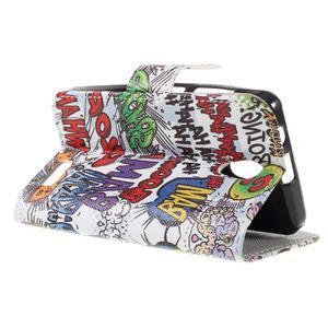 Styles peňaženkové puzdro pre mobil Lenovo A319 - graffiti - 5