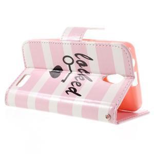 Styles peňaženkové puzdro pre mobil Lenovo A319 - láska - 5