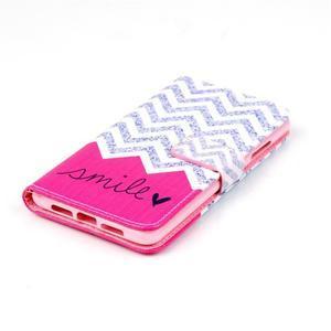 Style peňaženkové puzdro pre mobil Lenovo S90 - smile - 5