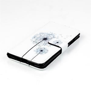 Style peňaženkové puzdro pre mobil Lenovo S90 - púpava - 5