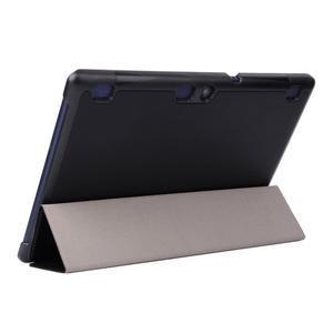 Trifold polohovatelné puzdro pre Lenovo Tab 2 A10-70 - čierné - 5