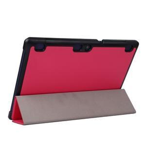 Trifold polohovatelné pouzdro na Lenovo Tab 2 A10-70 - rose - 5