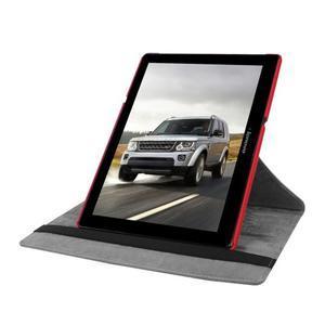 Puzdro s otočnou funkciou pre tablet Lenovo Tab 2 A10-70 - červené - 5