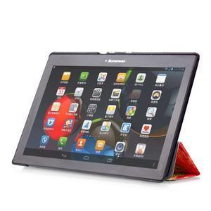 Polohovatelné puzdro pre tablet Lenovo Tab 2 A10-70 - umelecká malba - 5