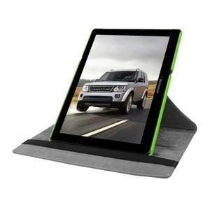 Puzdro s otočnou funkcí na tablet Lenovo Tab 2 A10-70 - zelené - 5