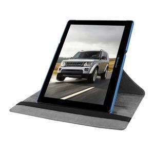 Puzdro s otočnou funkciou pre tablet Lenovo Tab 2 A10-70 - svetlomodré - 5