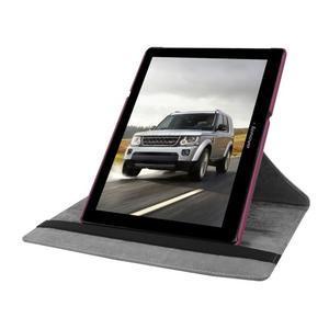 Puzdro s otočnou funkcí na tablet Lenovo Tab 2 A10-70 - fialové - 5