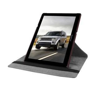 Puzdro s otočnou funkcí na tablet Lenovo Tab 2 A10-70 - tmavěhnědé - 5