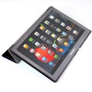 Polohovatelné puzdro pre tablet Lenovo Tab 2 A10-70 - farebné kruhy - 5