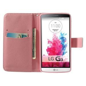 Obrázkové pouzdro na mobil LG G3 - barevná kolečka - 5