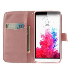 Ultra motive peněženkové pouzdro na LG G3 - sovička - 5