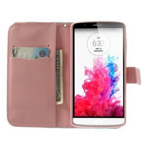 Ultra motive peňaženkové puzdro pre LG G3 - zamilovaná sova - 5