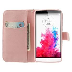 Ultra motive peňaženkové puzdro pre LG G3 - žirafy - 5