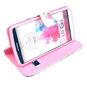 Obrázkové puzdro pre mobil LG G3 - kvetiny - 5