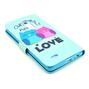 Obrázkové pouzdro na mobil LG G3 - soví láska - 5