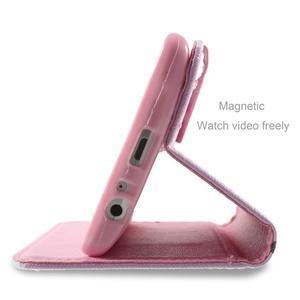 Motive koženkové pouzdro na LG G3 - kvetoucí větvička - 5