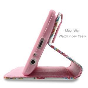 Motive koženkové pouzdro na LG G3 - mandala - 5