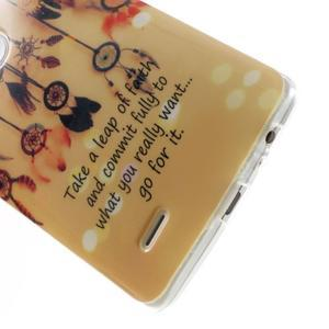 Gélový kryt pre mobil LG G3 - lapače snov - 5
