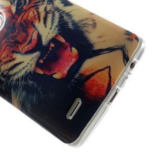Gélový kryt pre mobil LG G3 - tygr - 5