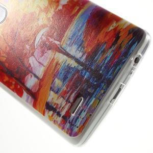 Silks gelový obal na mobil LG G3 - podzimní malba - 5