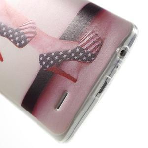 Silks gélový obal pre mobil LG G3 - sexy topánka - 5