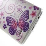Silks gelový obal na mobil LG G3 - motýlci - 5/7