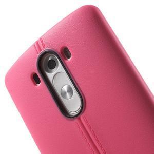 Lines gelový kryt na mobil LG G3 - rose - 5