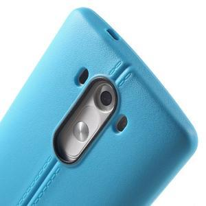 Lines gélový kryt pre mobil LG G3 - modrý - 5