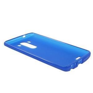 Matný gélový obal pre LG G3 - tmavomodrý - 5