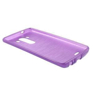 Brush gelový obal na LG G3 - fialový - 5