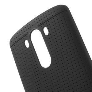 Silks gélový obal pre LG G3 - čierny - 5