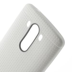 Silks gelový obal na LG G3 - bílý - 5