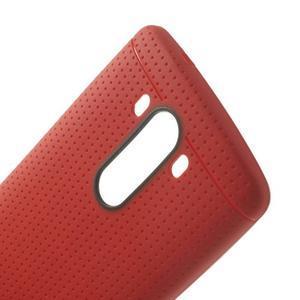 Silks gélový obal pre LG G3 - červený - 5